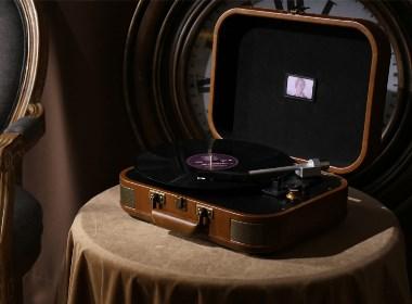巫1900黑胶唱机 留声机 唱机 黑胶 民族 刺绣