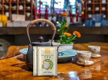 茶包装设计-天益牛蒡茶