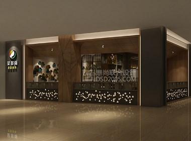 SANTOS圣多斯上塘店-现代时尚烤肉自助餐厅设计效果图