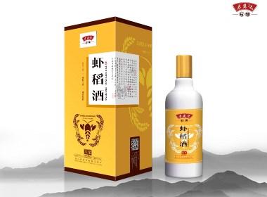 【酒品包装】虾稻酒包装设计+包装生产