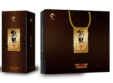 【酒品包装】熊旦白酒包装设计+包装生产