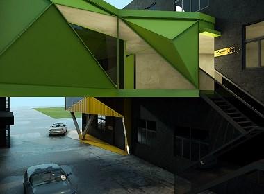 创意办公空间设计-杭州博多
