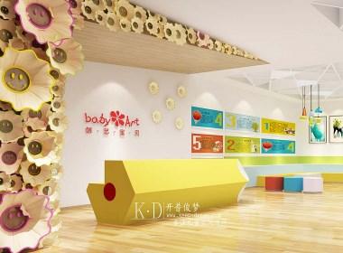 杭州创意宝贝早教中心设计装修图