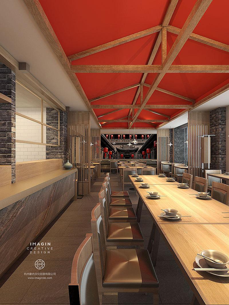 山西面馆餐厅设计