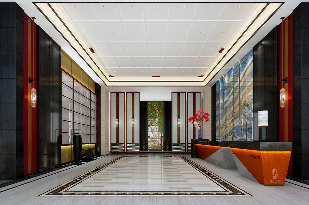 香港专业酒店设计公司 君子兰国际大酒店