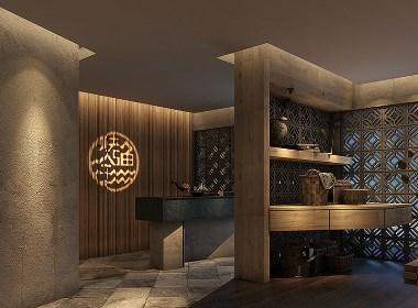 一抹醉人的古韵-北京江边城外烤鱼餐厅设计