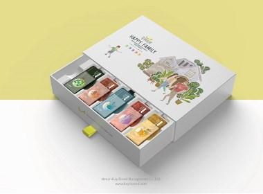 幸福優家-家庭洗護用品品牌與包裝設計