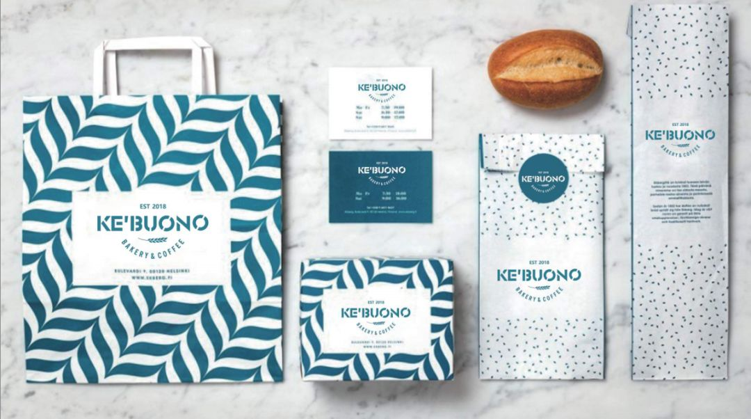 KE'BUONO咖啡厅品牌设计