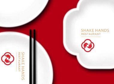 握手号-中式快餐 高速服务区餐厅品牌形象设计