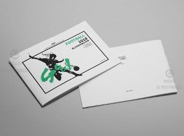 一希品牌设计--南山足球年度纪念册设计宣传册设计