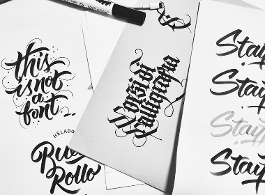 brush lettering/ Vol. 4