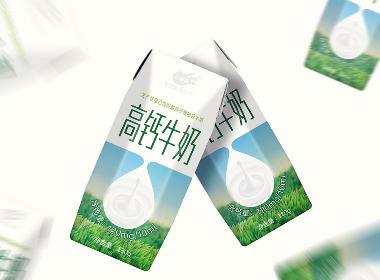 三剑客——高钙牛奶包装