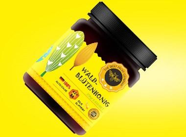 蜂蜜包装设计