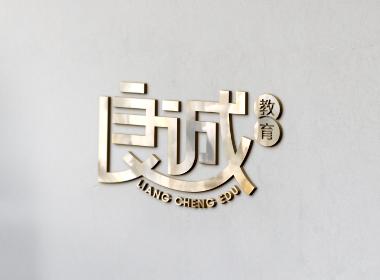 教育培训机构品牌LOGO标志字体设计