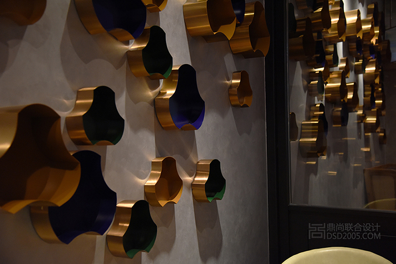 深圳鼎尚联合餐饮设计-现代时尚风格|圣多斯烤肉店设计上塘店实景