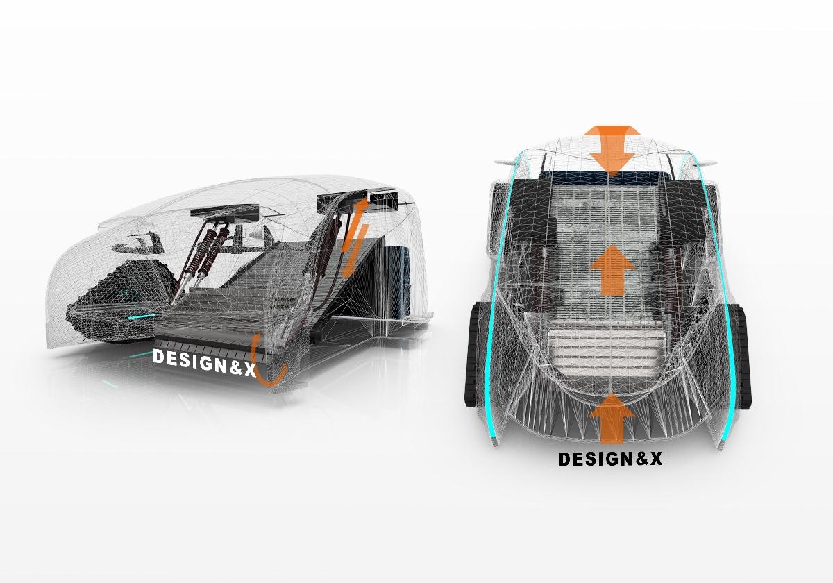 DESIGN&X沙滩清理车