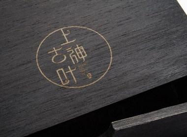 绿色生态健康古朴茶叶品牌商标LOGO标志设计