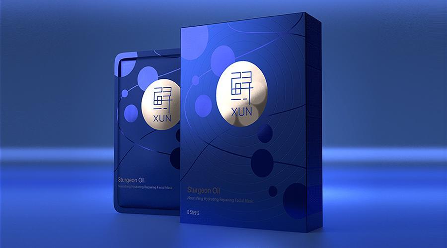 鲟面膜・产品包装设计