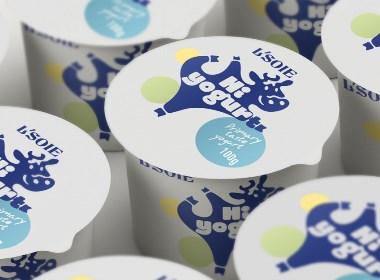 L'soie 酸奶・食品包装设计
