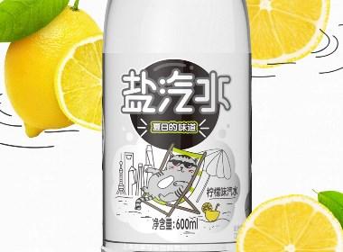百事可乐莹纯盐汽水・饮料包装设计