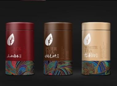 斗记茶业吉祥三宝产品包装升级设计--知和品牌设计公司