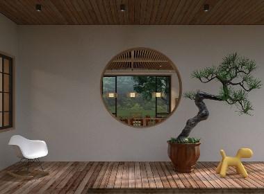 新中式風格山中小院設計-前意識設計葉平作品