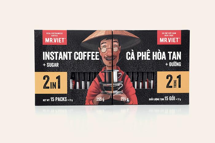 越南Mr.Viet速溶咖啡包装设计