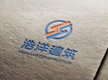 流笔品牌设计之建筑工程logo设计标志设计vi标识设计