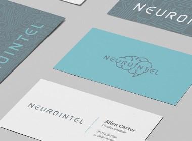 脑科学医疗公司Logo设计-NEUROINTEL