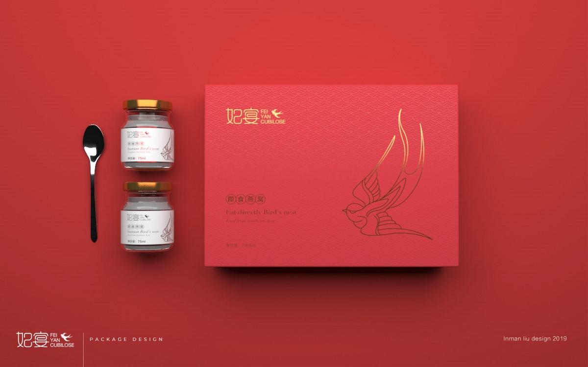 即食燕窝包装设计 燕窝品牌设计 燕窝礼盒设计 | 广州领秀原创作品