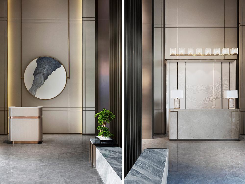 朗昇设计新作【渐·境】-金辉城销售中心+样板房