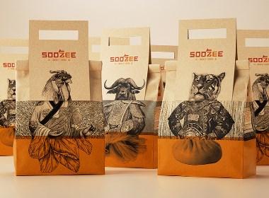 源于四川的正宗牛肉面湯品牌包裝設計