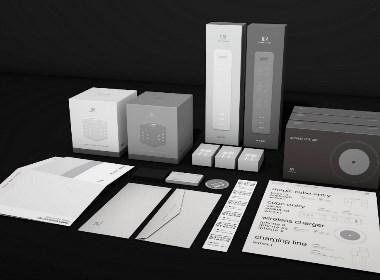电子产品品牌设计/手机配件、插排充电线包装设计