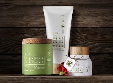 广州化妆品设计:草本之美——十方产品形象设计