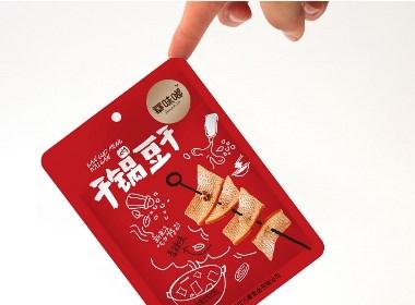 華味嘟豆干制品 | logo設計和包裝設計