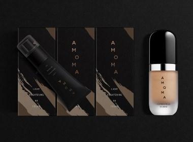 广州化妆品设计:AMOMA彩妆产品形象设计