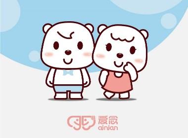 卡通吉祥物设计 儿童服装品牌