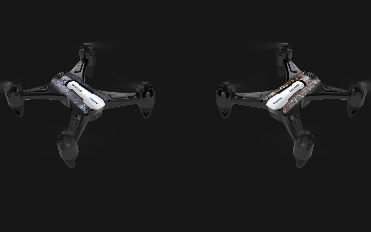 小四轴无人机外观设计