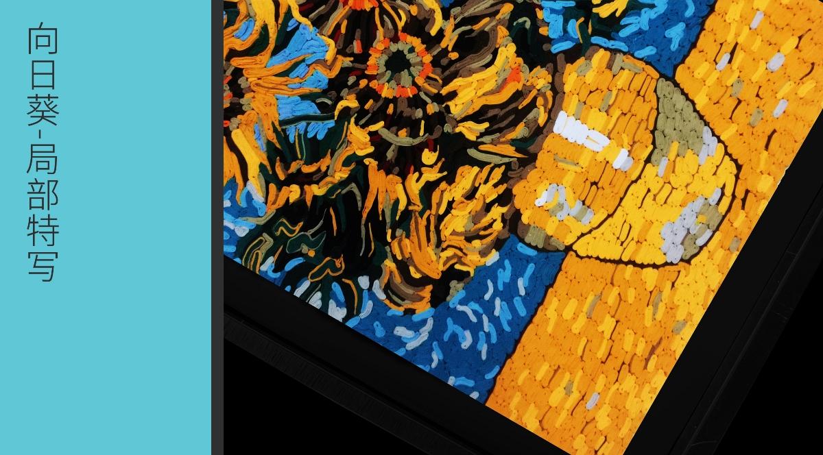 梵高-向日葵布艺装饰画