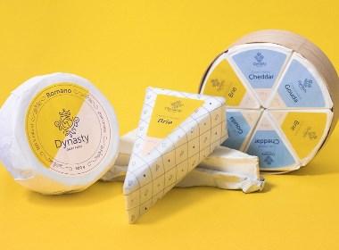 奶牛奶品牌包裝設計