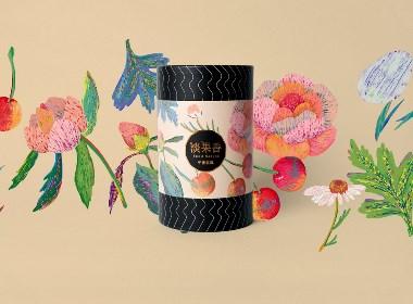 淡果香花果茶品牌包裝設計
