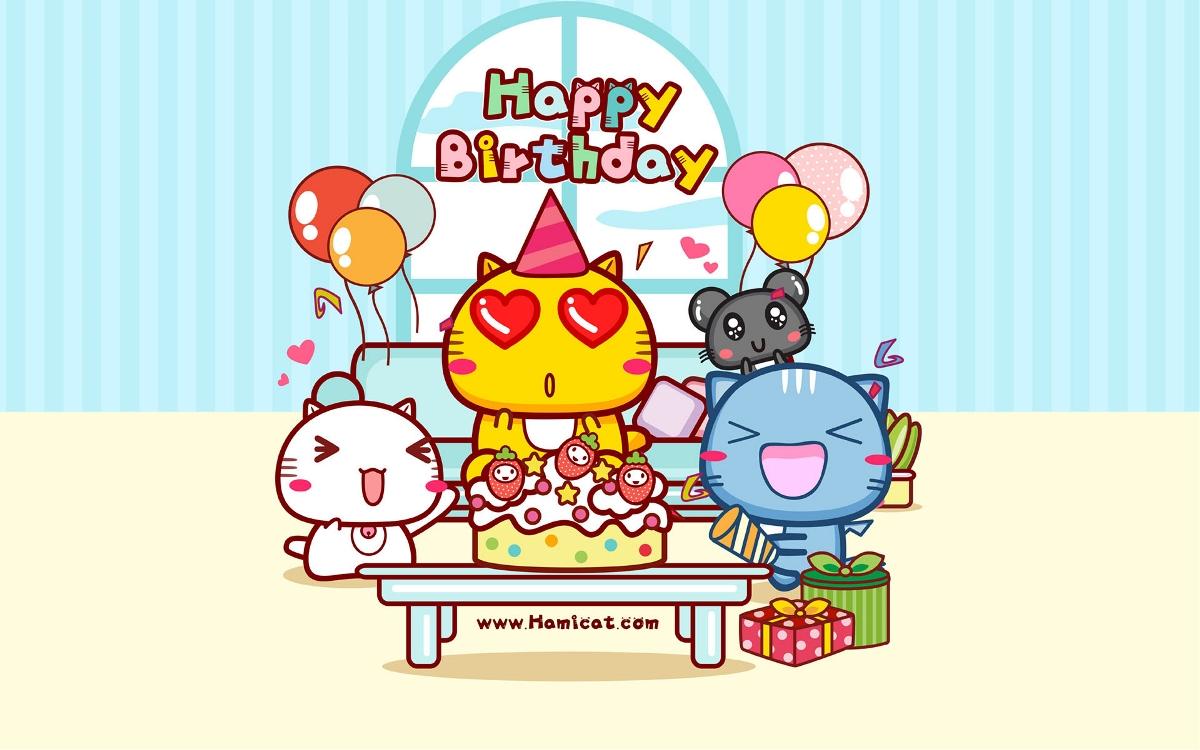 哈咪猫8岁生日快乐