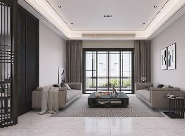 黑白灰-现代风格与新中式的结合