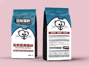 貓砂貓糧包裝設計