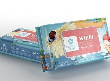 圣贝恩婴儿纸巾——徐桂亮品牌设计