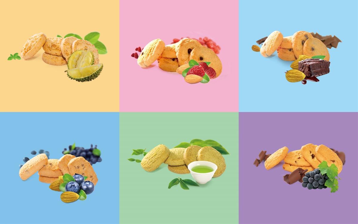 马卡兰公主系列曲奇饼干——狭缝中的清新时刻
