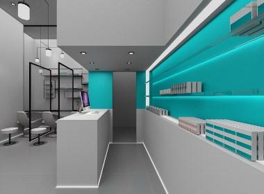 化妆品SI专卖店设计