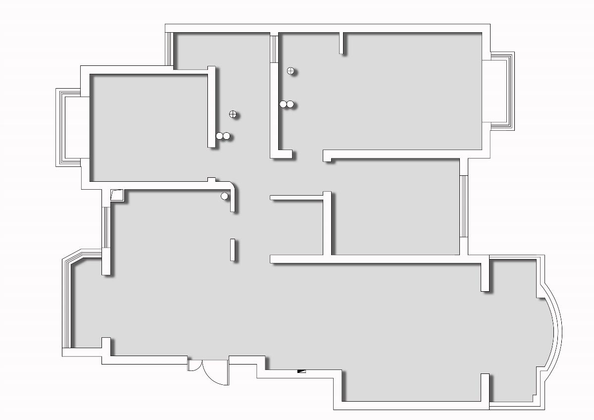 汉莎设计丨芜湖泰华家园现代混搭实景(全案托管)