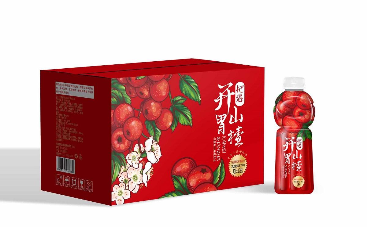 山楂饮料包装设计