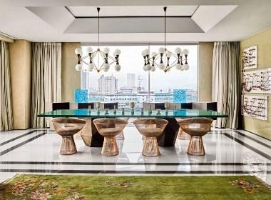 印度的精致与优雅客餐厅效果图
